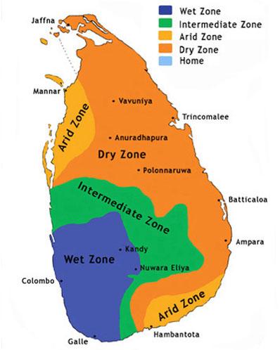 الاماكن السياحية في سريلانكا